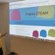 Nerea Castillo, directora de proyectos en Fhimasa en su proyecto STEAM